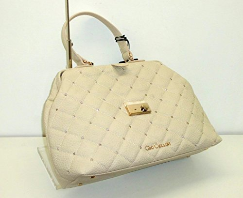Borsa Gio Cellini GIO1959 donna women handbag doctor bag a mano con strass