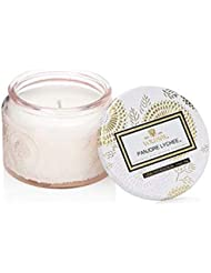 Voluspa Petite Panjore Lychee Glass Jar Candle, 3.2 Ounce