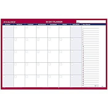 Amazon Com At A Glance Horizontal Erasable Wall Planner