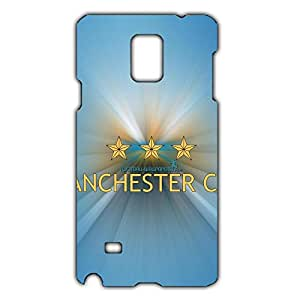 Fashion Design FC Manchester City Phone Case Cover For Samsung Galaxy Note 4 3D Plastic Phone Case