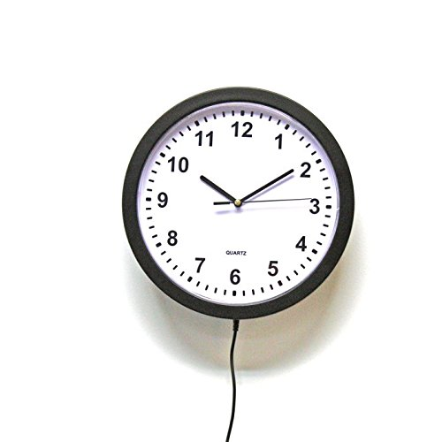 KJB Security Zone Shield WiFi Wall Clock Hidden Camera