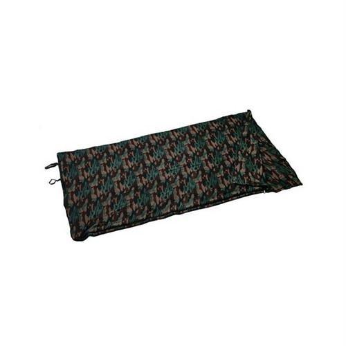 Texsport Fleece Sleeping Bag/Liner – Woodland Camouflage, Outdoor Stuffs