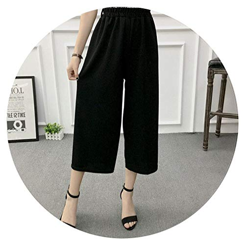 Women Wide Leg Pants Casual Loose High Elastic Waist, used for sale  Delivered anywhere in USA