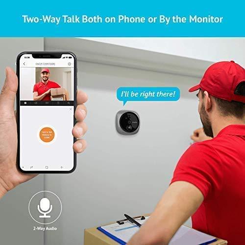 3.LaView Wireless Video Doorbell Camera