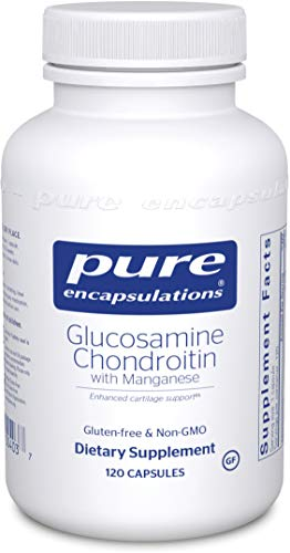Pure Encapsulations - Glucosamine + Chondroitin with Manganese - Enhanced Cartilage Synthesis and Antioxidant Support* - 120 Capsules