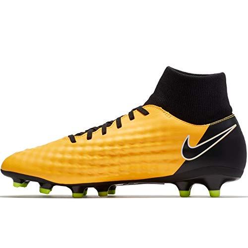 NIKE New Men's Magista Onda II DF FG Soccer Cleat Laser Orange/Black 10.5