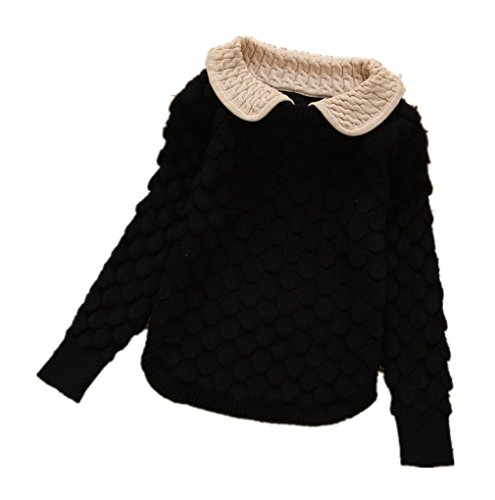 Cable Knit Pullover - Nine Minow Toddler Baby Girl Cable Knit Sweater Lovely Kid Pullover Sweatshirt