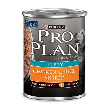 Pro Plan Chicken and Rice Canned Puppy Food, My Pet Supplies