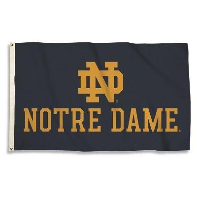 Notre Dame Fighting Irish Large 3x5 Flag Banner c