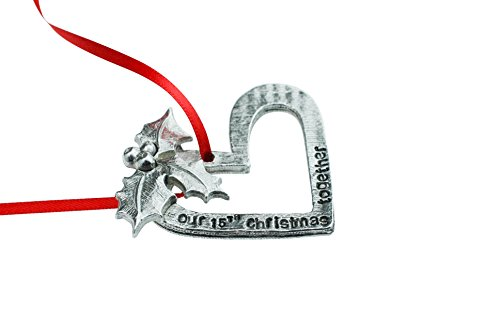 15th Anniversary Christmas Tree Ornament - Our 15th Christmas Together by Pirantin (Image #1)