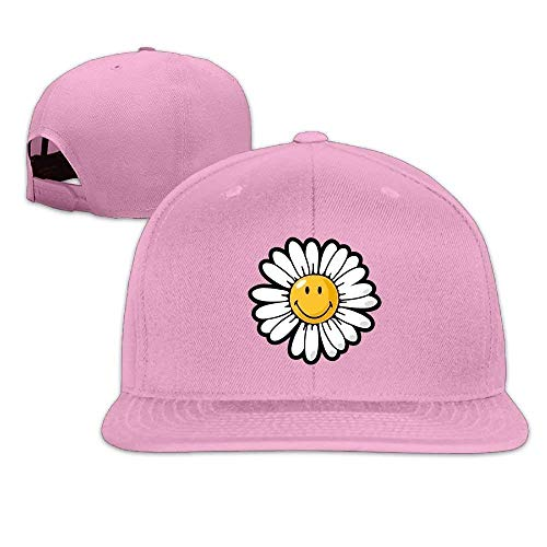 Smiley World Daisy Smiley Flat Bill Washed Hat Gym for sale  Delivered anywhere in USA