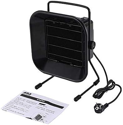 TAIKD 493 EU Filtro de carbón extractor de humos removedor de absorbente de humo de soldadura de soldadura ajustable para ventilador de estación ESD - Negro