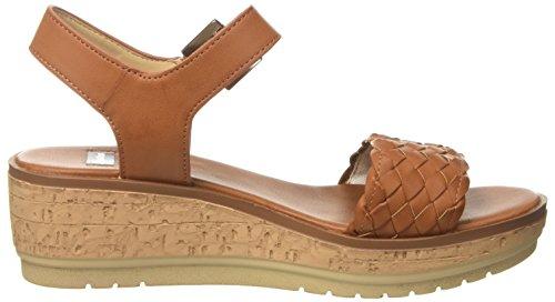 BATA Women's 661300 Platform Sandals Brown (Marrone 3) ArVwxV