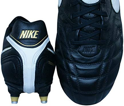 Nike Tiempo Legend III SG Hombre Botas de fútbol-Black-48.5