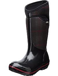 Bogs Women's Plimsoll Prince of Wales Tall Waterproof Boot