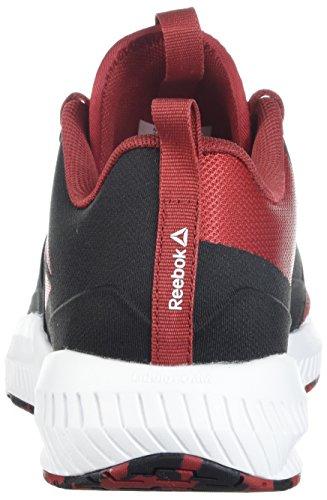 Reebok Mens Hydrorush Tr Sneaker Ricco Di Magma / Nero / Bianco