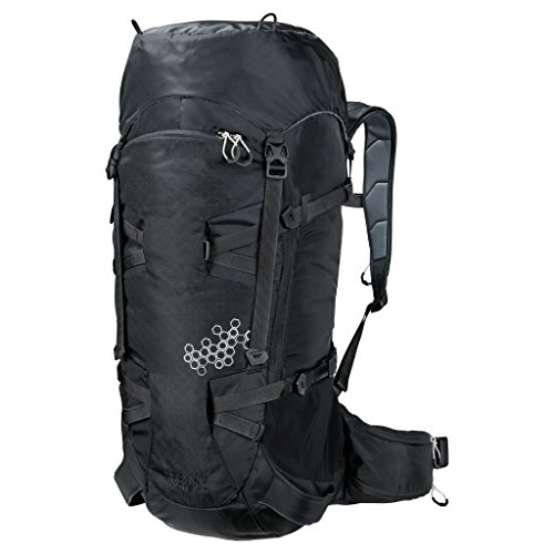 Jack Wolfskin White Rock 40 Pack Rucksack, Black by Jack Wolfskin
