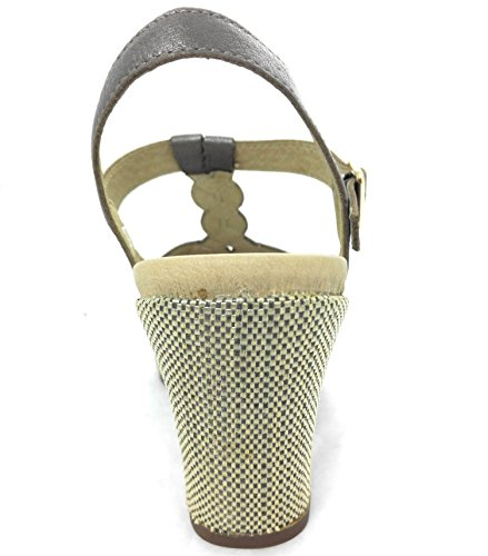 Platform for Elegant Metal Sandals Women Sandals Sandals Women Zerimar Leather Women EqxHq6z