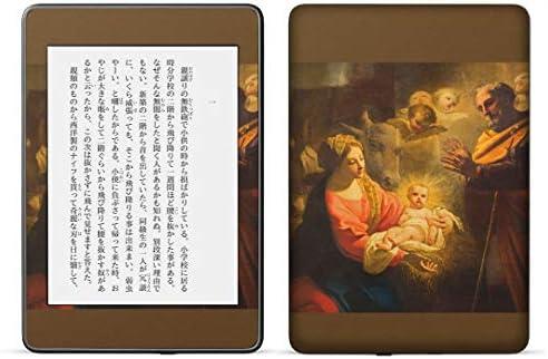 igsticker kindle paperwhite 第4世代 専用スキンシール キンドル ペーパーホワイト タブレット 電子書籍 裏表2枚セット カバー 保護 フィルム ステッカー 016391 絵画