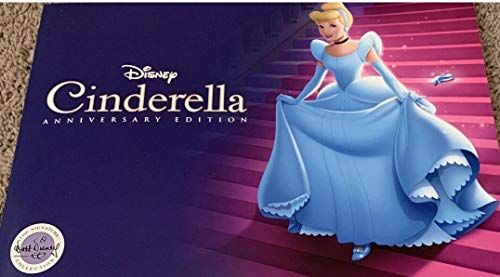 Lithograph Cinderella 4 Set 2019 Limited Release Set w/Portfolio