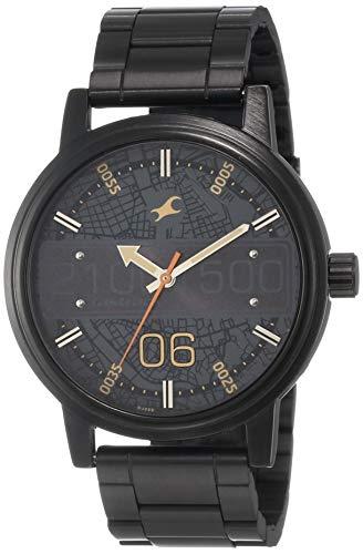 Fastrack Road Trip Analog Black Dial Men's Watch NM3199NM03 / NL3199NL03