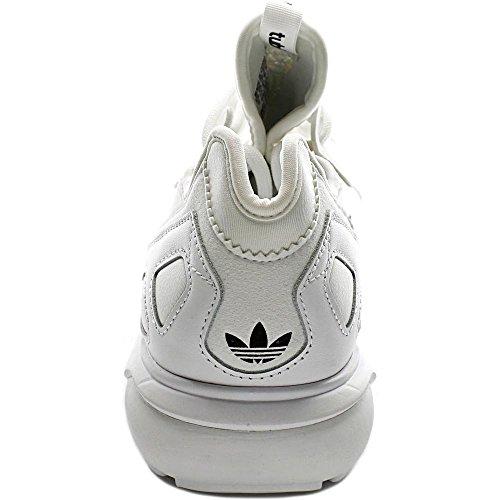 Adidas Menns Rørformede List Originaler Løpesko Hvit / Sort