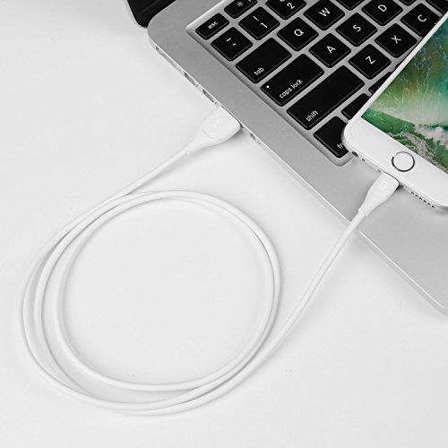 iPhone Charger Syncwire Lightning Cable - [Apple MFi Certified] UNBREAKcable Series for iPhone X, 8, 8 Plus, 7, 7 Plus, 6S, 6S Plus, 6, 6 Plus, SE, 5S, 5C, 5, iPad Mini, iPad Air, Pro - 3.3ft White by Syncwire (Image #5)