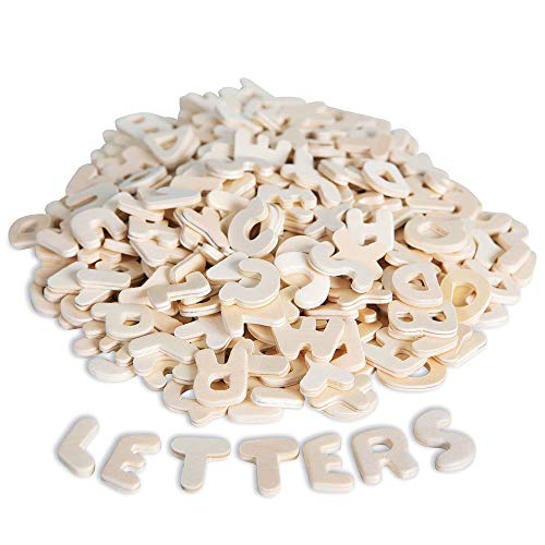 S&S Worldwide Unknown Wooden Letters (Pack of 300) (Small Craft Letters)