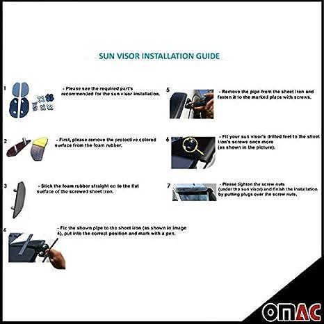 Lens Hood for External Mounting Sun Visor Tuning MB Sprinter