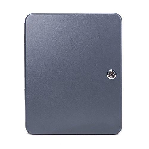 [해외]CO-Z 탄소 강철 열쇠 기자 기계적 자물쇠를 가진 열쇠를위한 저장 상자 주최자 2 개의 열쇠/CO-Z Carbon Steel Key Cabinet Storage Box Organizer for Keys with Mechanical Lock 2 keys