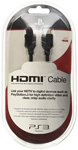 Sony - Cable HDMI para PS3: Amazon.es: Videojuegos