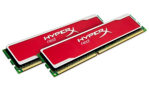 Memoria Ram 8gb Kingston Technology Hyperx Red Kit (2x4gb) 1333mhz 9-9-9 1.5v Ddr3 Pc3-10666 Non-ecc Dimm Motherboard Kh