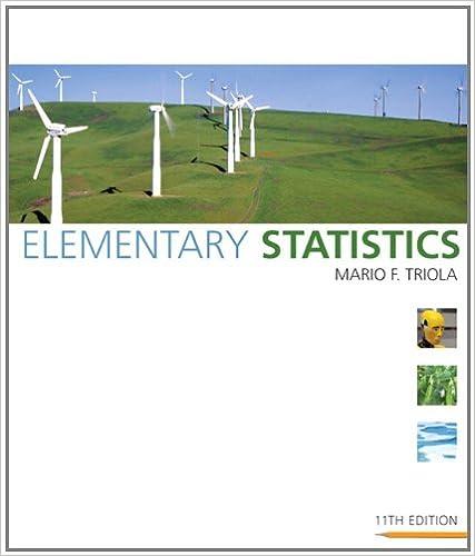 Elementary statistics 11th edition mario f triola 9780321500243 elementary statistics 11th edition 11th edition fandeluxe Images