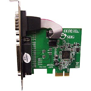 SIIG Cyber 1S1P PCIe Controller (JJ-E00011-S3)