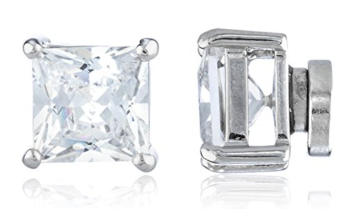 new-improved-silvertone-with-clear-cz-square-magnetic-stud-earrings-4mm-to-12mm-available-7-millimet