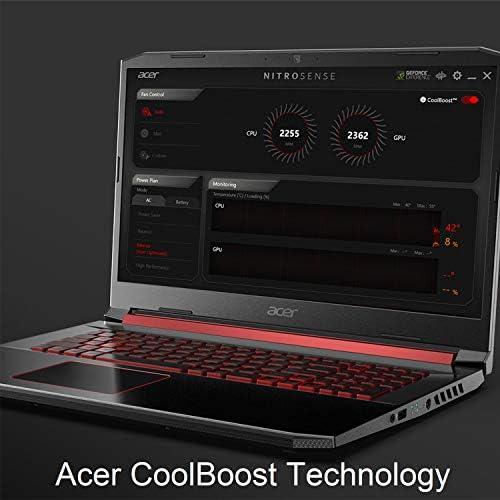 Acer Nitro 5 Gaming Laptop, 9th Gen Intel Core i5-9300H, NVIDIA GeForce GTX 1650, 15.6″ Full HD IPS Display, 8GB DDR4, 256GB NVMe SSD, Wi-Fi 6, Backlit Keyboard, Alexa Built-in, AN515-54-5812 41VH0YzWh4L