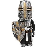 Knight kabouters Guard,Kruis Tempelier Guard Sculpturen & standbeelden, Europese middeleeuwse ridder Tin soldaten…
