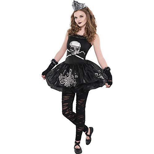 Dead Ballerina Costumes (Amscan Zomberina Halloween Costume for Girls, Large, with Included)