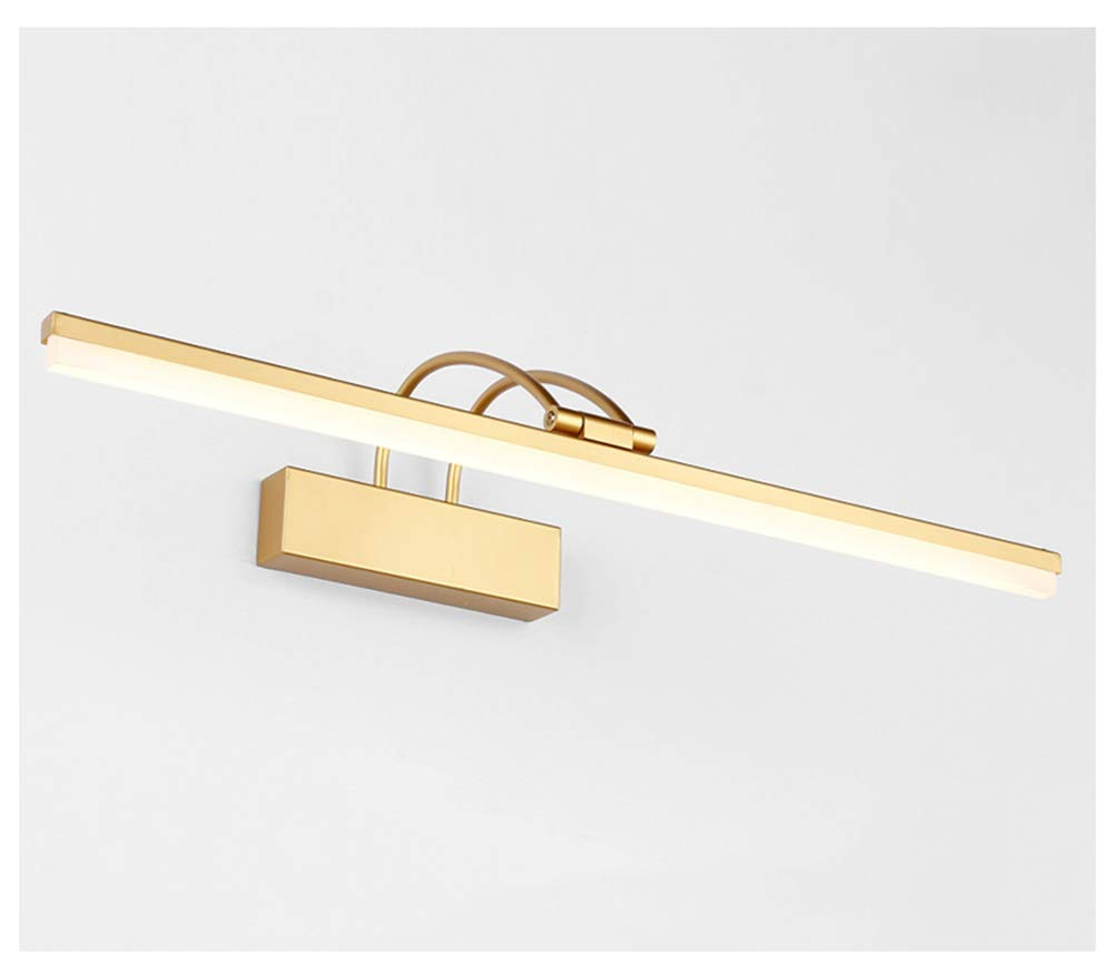 WB_L Picture Display Lighting Modern Mirror Headlights, led Simple Modern Mirror Cabinet Light Waterproof and Foggy Strip Wall Lamps (Color : White, Size : 41cm)