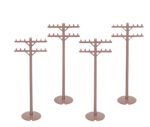Telephone Poles - Bachmann Trains Telephone Poles