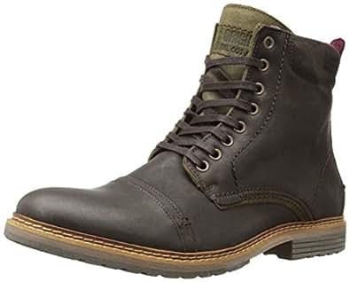 Amazon.com | Steve Madden Men's Sargge Winter Boot, Dark