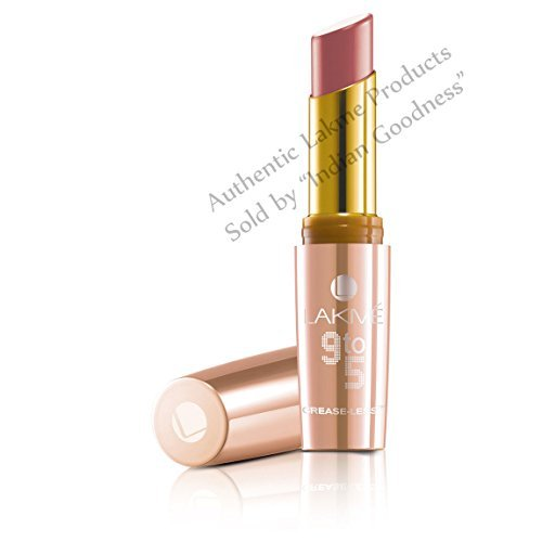 Price comparison product image Lakme 9 to 5 Crease-less Lipstick 3.6 g (Peach Path) + Free Gifts + by Lakme