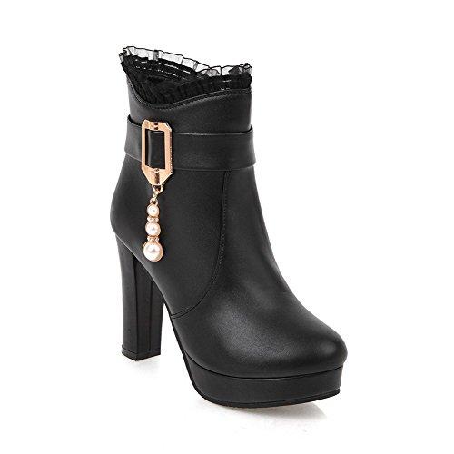 cerrados BalaMasa Zapatos Para mujer Negro FFxw175Uq