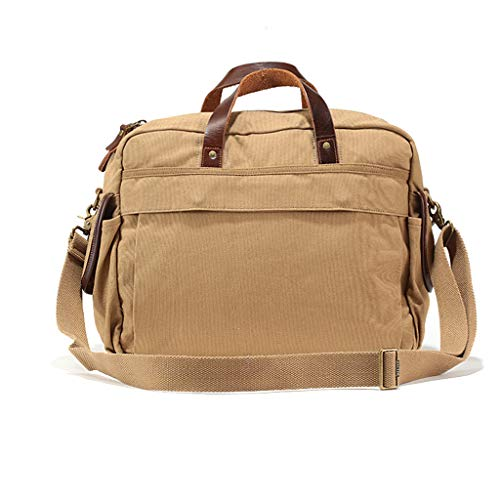 Retro Bag Backpack Men's Shoulder Fashion Handbags Messenger Travel Casual Canvas Pll PwEzqvTq