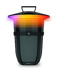 Acoustic Research Santa Clara 10 Watt Rechargeable Indoor Outdoor Wireless Light Up Bluetooth Speaker