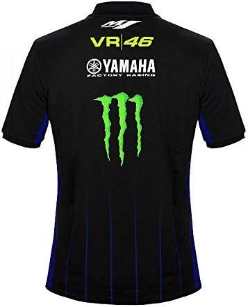 Valentino Rossi VR46 Moto GP M1 Negro Line Yamaha Polo Shirt ...