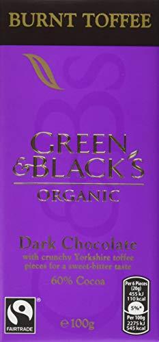 (Green & Black's Burnt Toffee 100g)