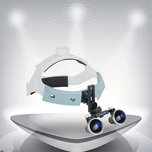 - Dental Surgical Medical Headband Binocular Loupes Head Mount Glasses Magnifier Optivisor Headband Magnifying Glasses Bullet Points 3.5X-R