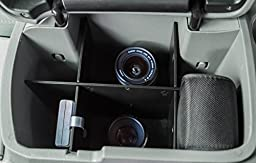 Center Console Organizer Fits Select Toyota Tacoma - Custom Fit Insert for Armrest Lid Compartment