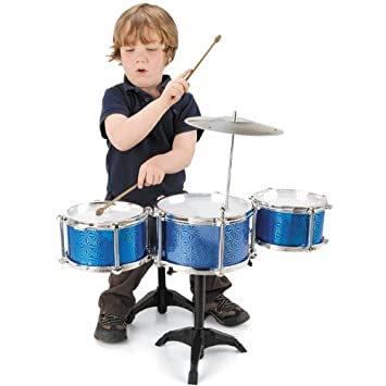 Childrens My First 1st Drum Kit Drums and Stool Set Musical Toy Instrument  sc 1 st  Amazon UK & Childrens My First 1st Drum Kit Drums and Stool Set Musical Toy ... islam-shia.org